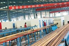 大长度帘线管自动化生产线